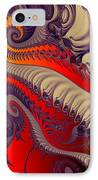 Fractal Fill IPhone Case