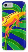 Frog On Branch IPhone Case