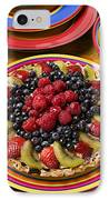 Fruit Tart Pie IPhone Case