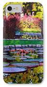 Garden Ponds - Tower Grove Park IPhone Case