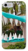 Gatorland In Kissimmee Is Just South Of Orlando In Florida IPhone Case