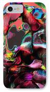 Geranium Gone Wild IPhone Case