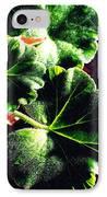 Geranium Leaves IPhone Case