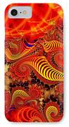 Glow Coils IPhone Case