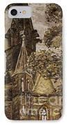 Gold Thun Castle IPhone Case