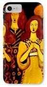 Golden Chords IPhone Case