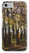 Golden Trees 1 IPhone Case