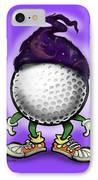 Golf Wizard IPhone Case