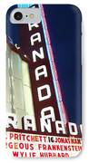 Granada Theater IPhone Case