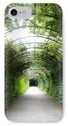 Green Arbor Of Mirabell Garden IPhone Case