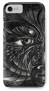 Guardian Cherub IPhone Case
