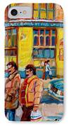 Henry Birks On St Catherine Street IPhone Case