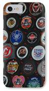 Hockey Pucks IPhone Case