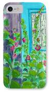 Hollyhock Surprise IPhone Case