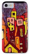 Hot Night In The City IPhone Case