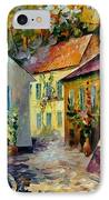 Hot Noon Original Oil Painting  IPhone Case