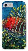 Hovering - Red Banded Wrasse IPhone Case