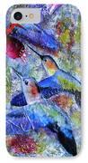 Hummingbird Joy IPhone Case