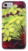 Ixora - Jungle Flame IPhone Case