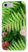 Jacqueline's Garden - Camaraderie Of Textures IPhone Case