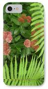 Jacqueline's Garden - Camaraderie Of Textures Too IPhone Case