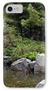 Japanese Garden Iv IPhone Case
