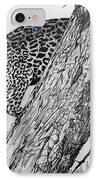 Jaquar In Tree IPhone Case