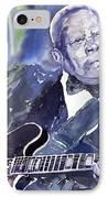 Jazz B B King 01 IPhone Case