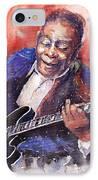 Jazz B B King 06 A IPhone Case