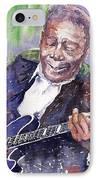 Jazz B B King 06 IPhone Case