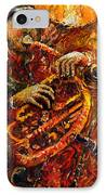 Jazz Gold Jazz IPhone Case