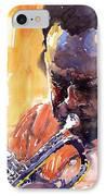 Jazz Miles Davis 8 IPhone Case