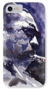 Jazz Saxophonist John Coltrane 01 IPhone Case