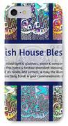 Jewish House Blessing City Of Jerusalem IPhone Case