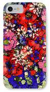 Joyful Flowers IPhone Case