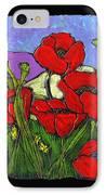June Poppies IPhone Case