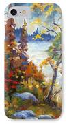 Lake Cartier IPhone Case