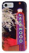 Lakewood Theater IPhone Case