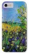 Landscape With Cornflowers 459060 IPhone Case