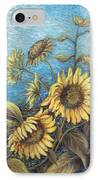 Late Sunflowers  IPhone Case