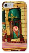 Laura Secord Candy And Cone Shop IPhone Case