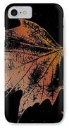 Leaf On Bricks IPhone Case
