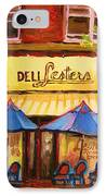 Lesters Cafe IPhone Case