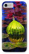 Lilies And Glass Reflections IPhone Case