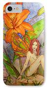 Lillian Keeper Of Both Wealth And Pride - Watercolor IPhone Case
