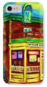 Little Shop On The Corner IPhone Case