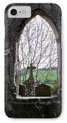 Looking Out Fuerty Church Roscommon Ireland IPhone Case