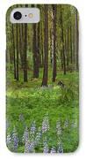 Lupine Carpet IPhone Case