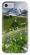 Lupine Storm IPhone Case