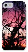 Magnificent Sunset And Trees IPhone Case